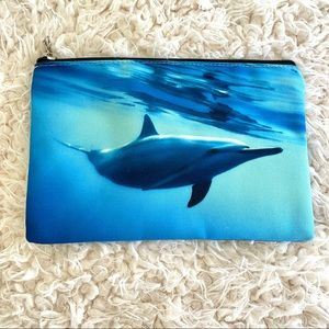 Dolphin pouch/bag NWOT
